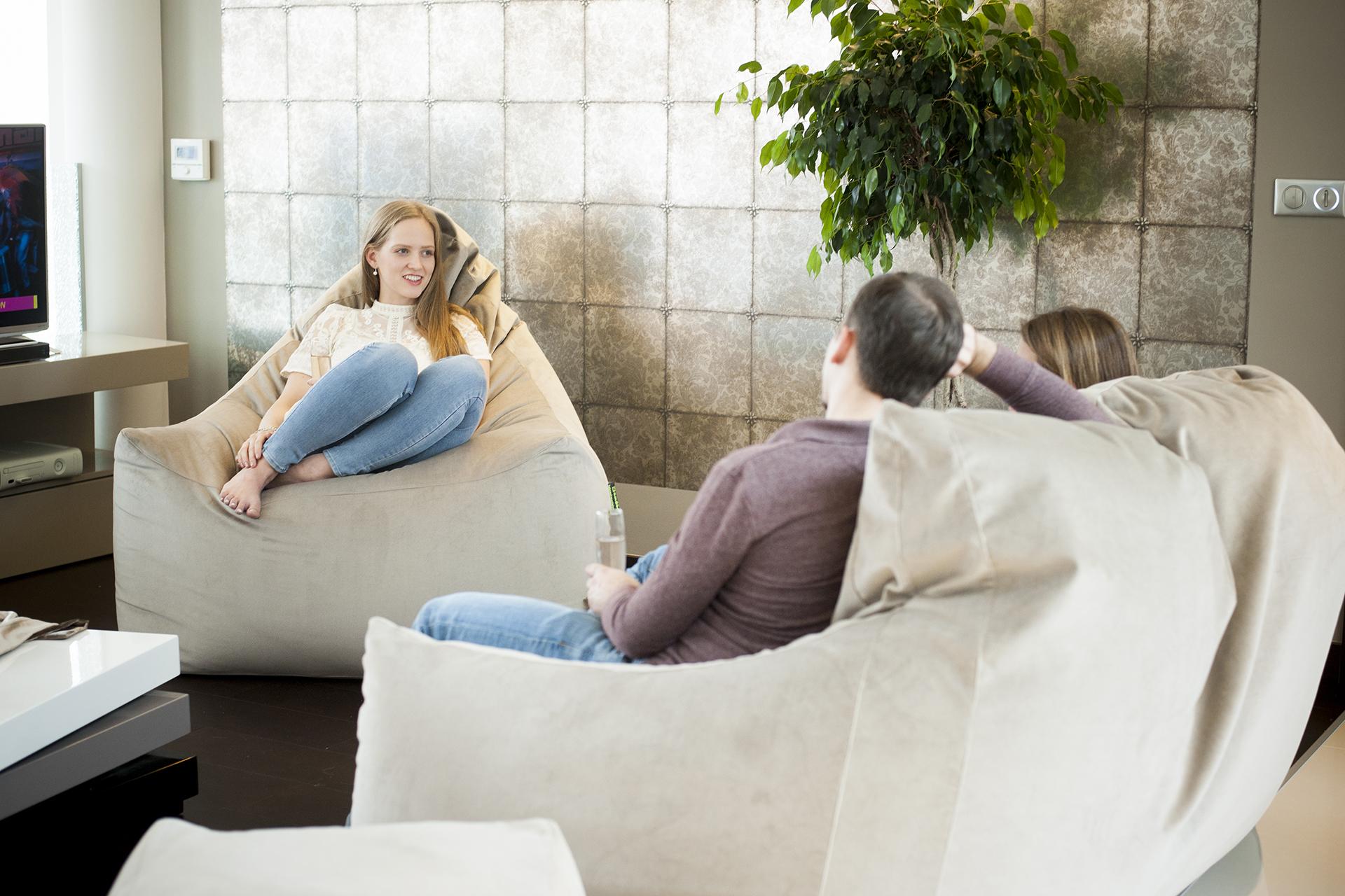 Relax fotel, Relax kanapé használat közben, enteriőrben