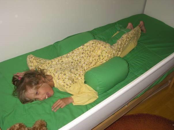 Speciális gyógypárna mozgáskorlátozott gyereknek