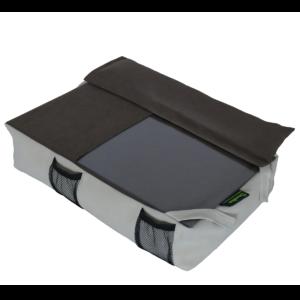 Amőba egérpados laptoptartó kézpárnával (drapp barna)