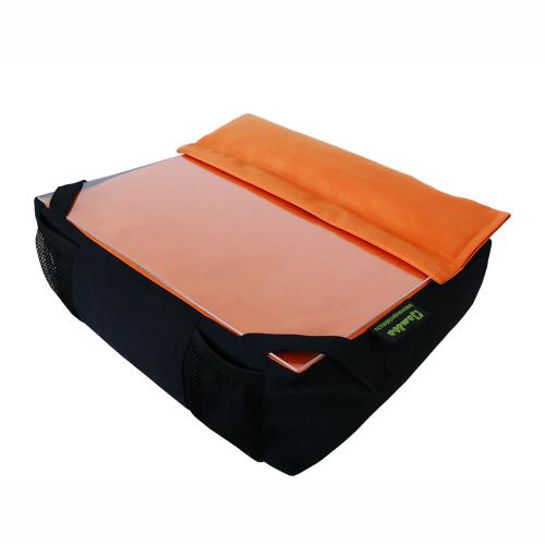 Amőba laptoptartó kézpárnával (narancs) 1000x1000
